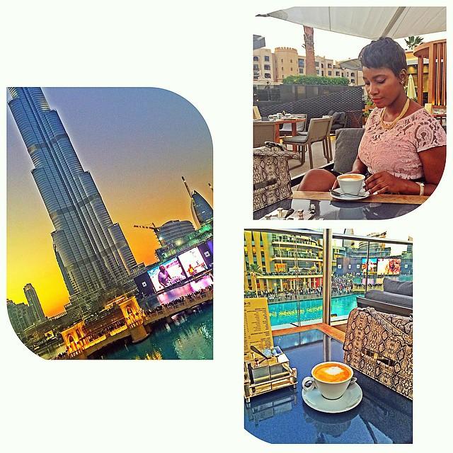 Ponde living large in Dubai