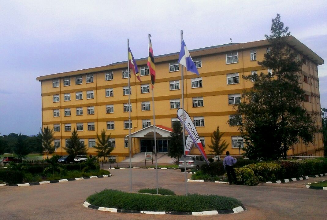 Ndejje university campus in Kampala