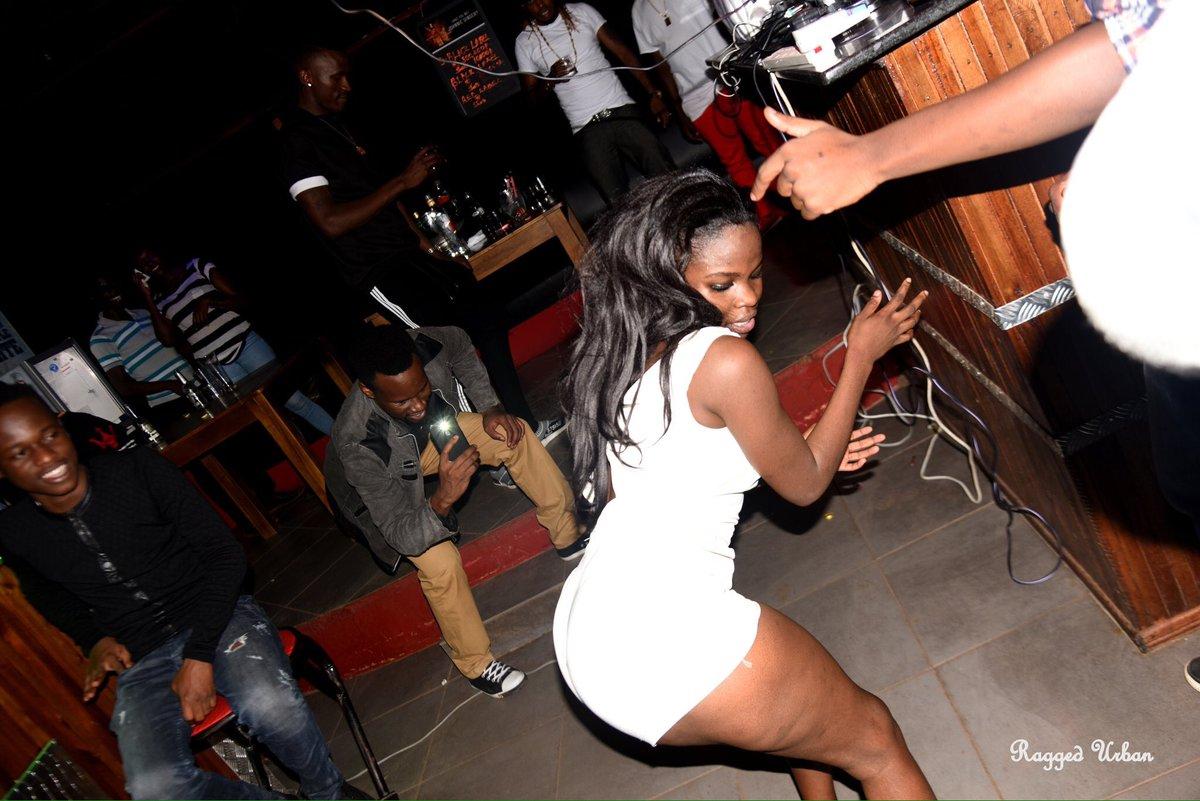 DJ Ciza making his new girl dance
