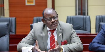 Makerere University Vice Chancellor, Prof Barnabas Nawangwe.