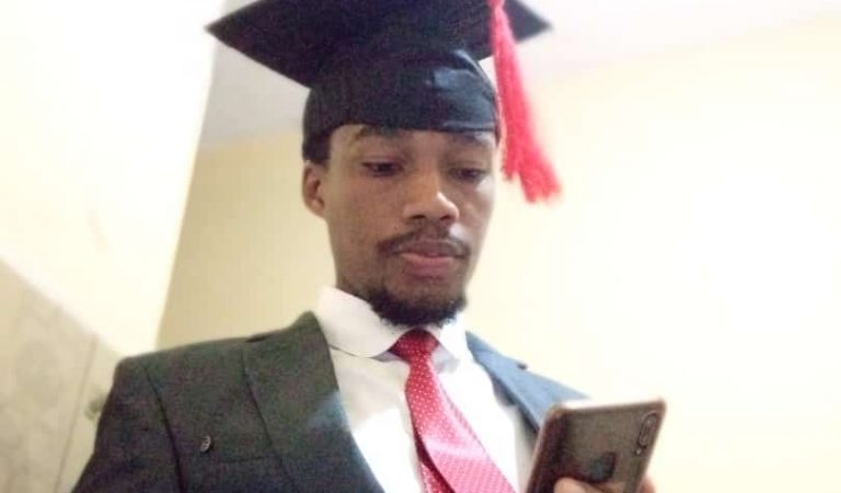 COVID-19: Makerere Student Graduates Himself