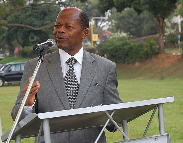 Dr Chrysostom Muyingo, the state minister for higher education