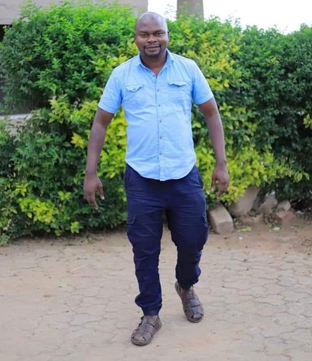 The deceased, Dr Peter Mugisha