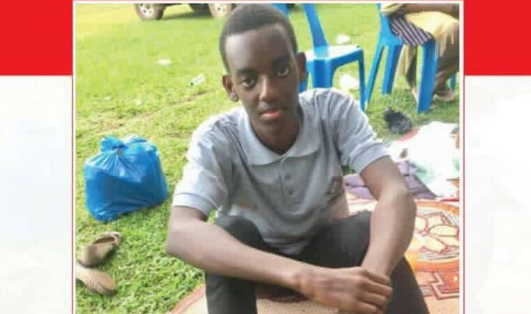 Finally! Missing Senior Six Student Found in Mukono
