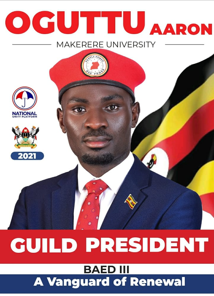 Oguttu Aaron campaign poster.