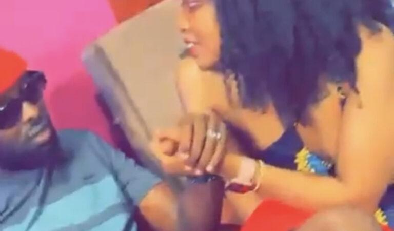 VIDEO: Lynda Ddane, Eddy Kenzo Get Worryingly Cozy